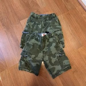 Levis Toddler boys camouflage shorts